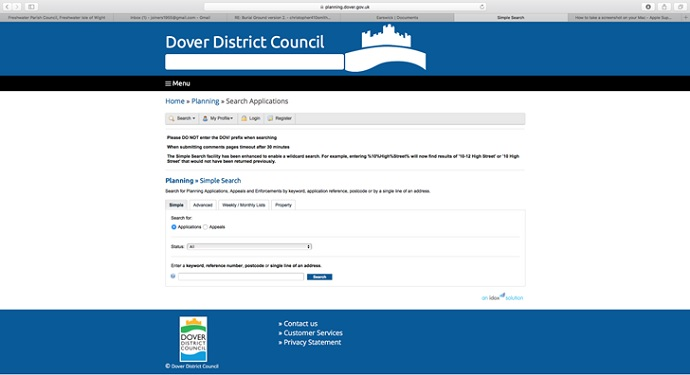 Dover DC Planning