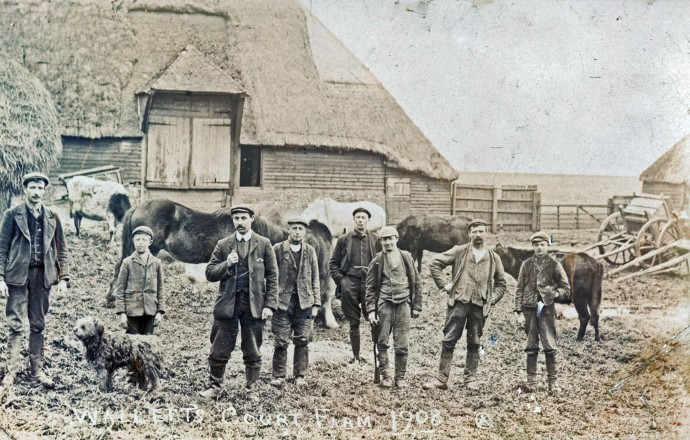 Wallets Court Farm 1908