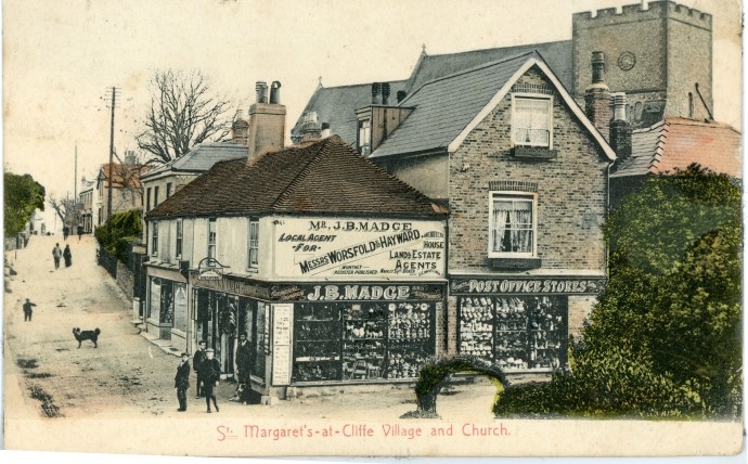 Centre of the village c.1900