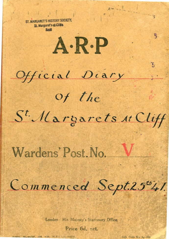 WW2 Village ARP log 1941
