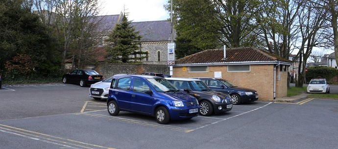 Reach Road Car Park and toliets